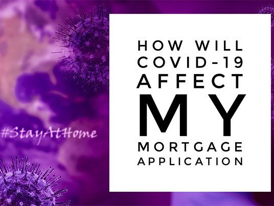 covid mortgage application